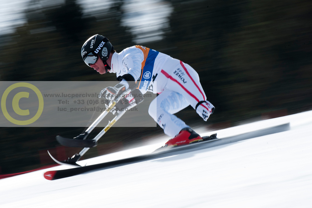GROCHAR Thomas, AUT, Super Combined, 2013 IPC Alpine Skiing World Championships, La Molina, Spain