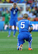 Fabio Cannavaro during the 2010 FIFA World Cup South Africa Group F match between Italy and New Zealand at the Mbombela Stadium on June 20, 2010 in Nelspruit, South Africa.