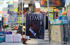 DEC 21 2012 Time magazine  - Obama