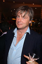 The MARQUESS OF WORCESTER at a party to celebrate the publication of 'E is for Eating' by Tom Parker Bowles held at Kensington Place, 201 Kensington Church Street, London W8 on 3rd November 2004.<br />