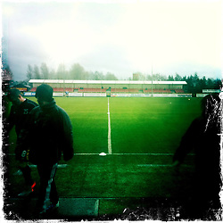 Alloa FC..Hipstamatic images taken on an Apple iPhone..©Michael Schofield.