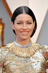 Jessica Biel at the 89th Annual Academy Awards held at the Hollywood and Highland Center in Hollywood, USA on February 26, 2017.