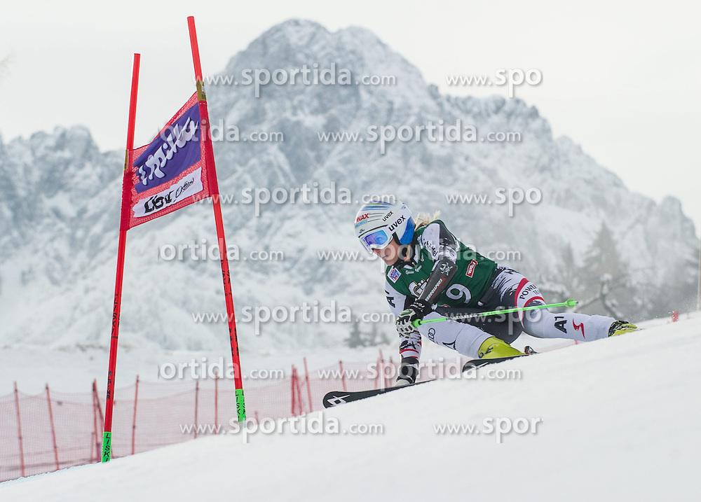 28.12.2013, Hochstein, Lienz, AUT, FIS Weltcup Ski Alpin, Lienz, Riesentorlauf, Damen, 1. Durchgang, im Bild Eva-Maria Brem (AUT) // during the 1st run of ladies giant slalom Lienz FIS Ski Alpine World Cup at Hochstein in Lienz, Austria on 2013-12-28, EXPA Pictures © 2013 PhotoCredit: EXPA/ Michael Gruber