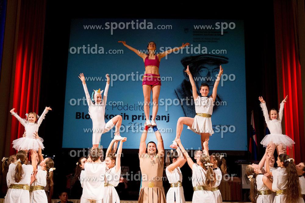 Sports club Flip Piran performing at 48th Annual Awards of Stanko Bloudek for sports achievements in Slovenia in year 2012 on February 12, 2013 in Grand Hotel Union, Ljubljana, Slovenia. (Photo By Vid Ponikvar / Sportida)