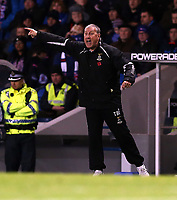 Football - League Cup - Rangers vs Inverness Caley Thistle<br /> <br /> Ian MacNicol/Colorsport<br /> <br /> Terry Butcher manager of ICT gestures during the Rangers vs Inverness Caley Thistle League Cup Quarter Final match at Ibrox Stadium, Glasgow<br /> <br /> 31st October 2012