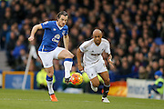 Everton defender Leighton Barnes  during the Barclays Premier League match between Everton and Swansea City at Goodison Park, Liverpool, England on 24 January 2016. Photo by Simon Davies.
