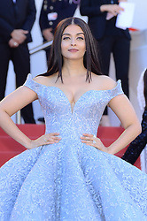 May 19, 2017 - Cannes, France - AISHWARYA RAI BACHCHAN arrives for the 'Okja' Premiere during 70th edition of Cannes film festival. (Credit Image: © FORUM via ZUMA Press)