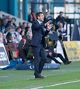 8th May 2018, Global Energy Stadium, Dingwall, Scotland; Scottish Premiership football, Ross County versus Dundee; Dundee manager Neil McCann