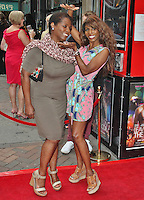 LONDON - August 01: Miquel Brown & Sinitta at the Leave It On The Floor UK Premiere (Photo by Brett D. Cove)