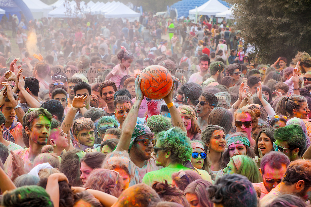 "In Palermo, the Uditore Park was the setting for the first edition of the ""Spring Festival"", on April 19, 2015, where hundreds of young people participated in the Color Party. Colorful dust celebrated the arrival of spring, much like the Indian festival of fertility ""Holi""."