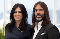 Director Nadine Labaki and Khaled Mouzanar at the Capharnaüm (Cafarnaúm) film photo call at the 71st Cannes Film Festival, Friday 18th May 2018, Cannes, France. Photo credit: Doreen Kennedy