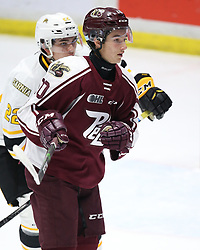 J.R. Avon of the Peterborough Petes. Photo by Luke Durda/OHL Images