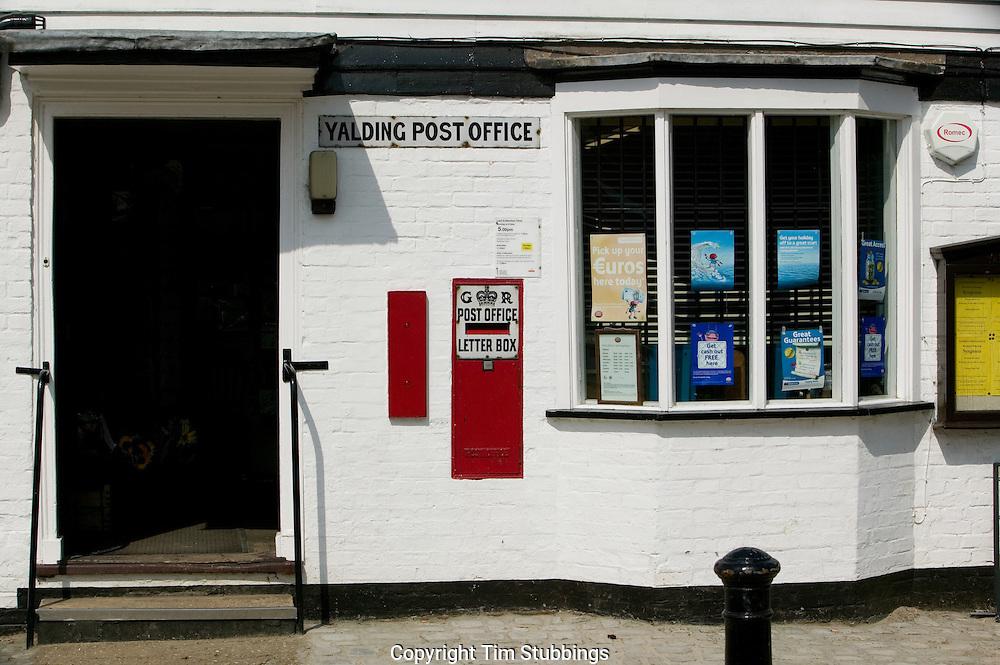 Yalding Post Office, Kent, England, UK