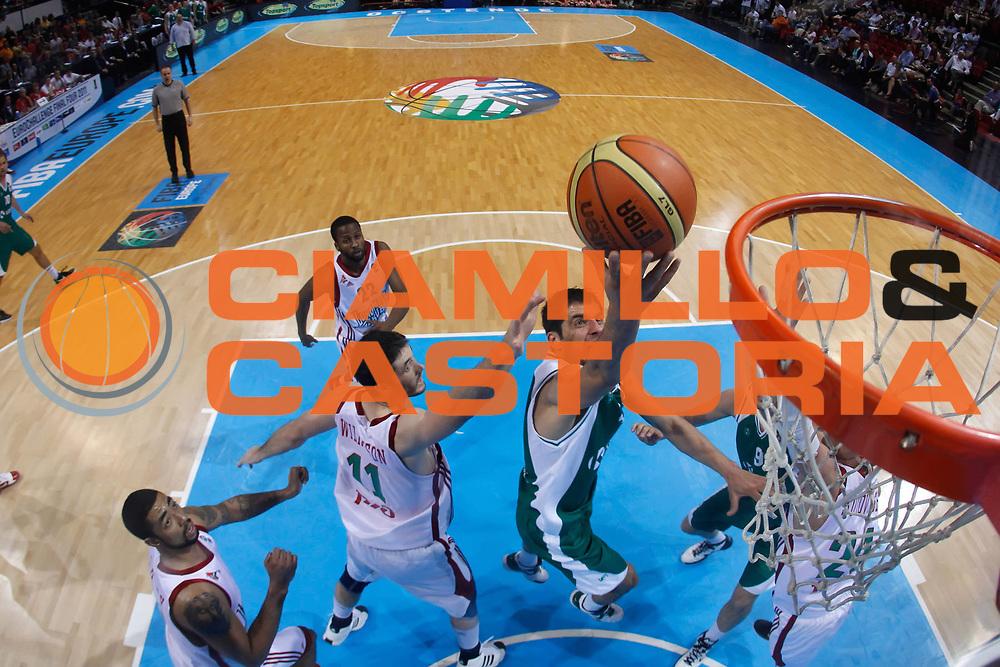 DESCRIZIONE : Ostenda Fiba Europe EuroChallenge Men Final Four 2011<br /> Final Lokomotiv Kuban KRKA Novo Mesto<br /> GIOCATORE : Goran Ikonic<br /> SQUADRA : KRKA Novo Mesto<br /> EVENTO : Fiba Europe EuroChallenge Final Four 2011<br /> GARA : Lokomotiv Kuban KRKA Novo Mesto<br /> DATA : 01/05/2011<br /> CATEGORIA : tiro special<br /> SPORT : Pallacanestro <br /> AUTORE : Agenzia Ciamillo-Castoria/ElioCastoria<br /> Galleria : Fiba Europe EuroChallenge Final Four 2011<br /> Fotonotizia : Ostenda Fiba Europe EuroChallenge Men Final Four 2011<br /> Final Lokomotiv Kuban KRKA Novo Mesto<br /> Predefinita :
