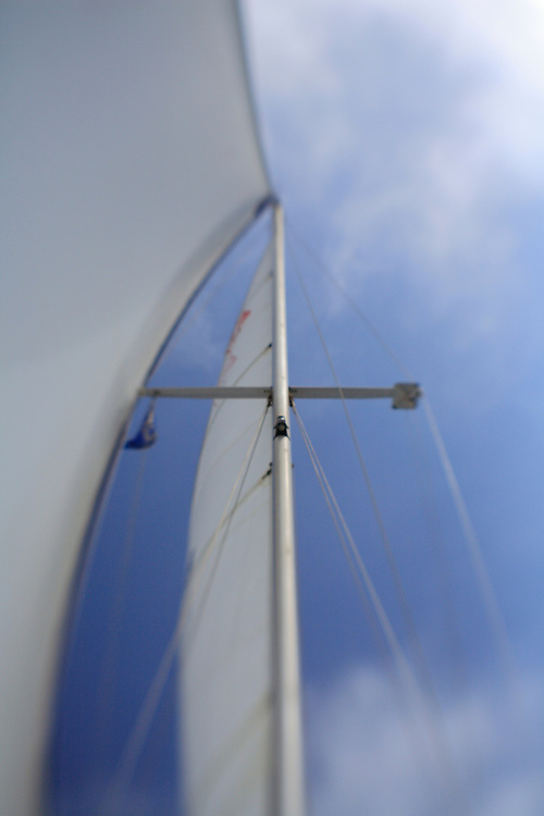 Sailboat Mast - Newport Beach, CA - Lensbaby