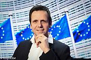 Bernd KOLMEL in the Eruopean Parliament in Brussels
