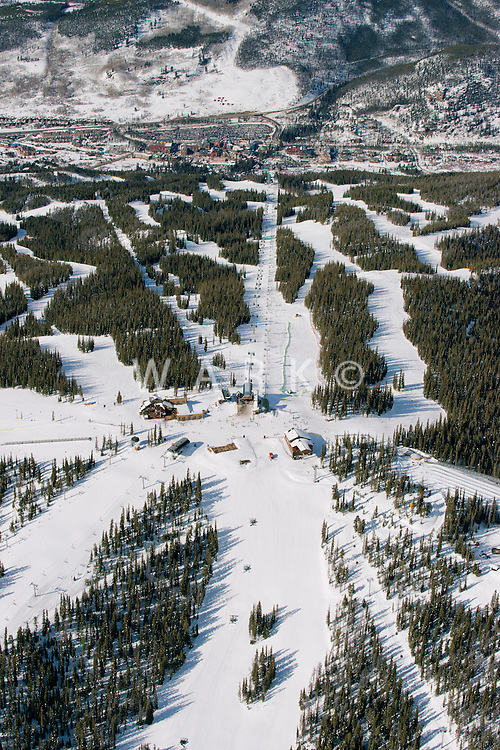 Keystone Ski Area. Dercum, Summit Express Lift. March 2014