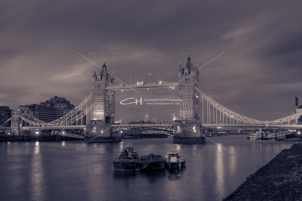 Tower Bridge at night -