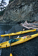 Sea Kayaking, Sea Kayak, Sea Kayaks, Pacific Ocean, Ocean, San Juan Islands, Washington