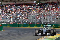 ROSBERG nico (ger) mercedes gp mgp w06 action  during 2015 Formula 1 championship at Melbourne, Australia Grand Prix, from March 13th to 15th. Photo DPPI / Frederic Le Floch.