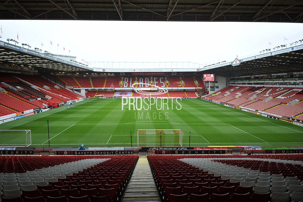 Sheffield united Ground Bramall Lane before the Sky Bet League 1 match between Sheffield Utd and Southend United at Bramall Lane, Sheffield, England on 14 November 2015. Photo by Ian Lyall.
