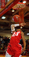 5 MARCH 2011 -- NORMANDY, Mo --  Chaminade College Prep's Bradley Beal (23) follows through on a break away dunk during the MSHSAA Class 5 boys basketball quarterfinals between the Red Devils and McCluer North High Schoo at Mark Twain Hall on the University of Missouri - St. Louis campus in Normandy, Mo. Saturday, March 5, 2011. The Stars upset the Red Devils 57-56 to advance to MSHSAA semifinals. Image © copyright 2011 Sid Hastings.