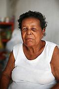 Maria Plácida de Jesus, 76 anos, (Dona Pracida) .considerada pelo povo a primeira vendedora da fruta no mercado público de Aracaju..© Tatiana Cardeal