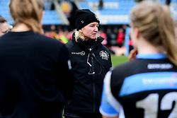 Exeter Chiefs Women Head Coach Susie Appleby - Mandatory by-line: Ryan Hiscott/JMP - 07/03/2020 - SPORT- Sandy Park - Exeter, United Kingdom - Exeter Chiefs Women v Army Women
