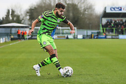 Forest Green Rovers Dominic Bernard(3) during the The FA Cup match between Forest Green Rovers and Carlisle United at the New Lawn, Forest Green, United Kingdom on 30 November 2019.