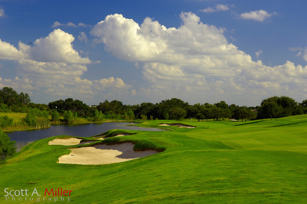 September 7, 2007, San Antonio, Texas; Hole No. 6 at the Briggs Ranch Golf CLub...                ©2007 Scott A. Miller