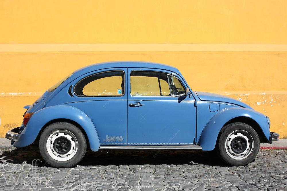 Old, Volkswagen Beetle, El Tesoro, Guatemala
