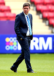 Bristol Rovers manager Darrell Clarke arrives at The Valley for the opening day of the Sky Bet League One 2017/18 Season - Mandatory by-line: Robbie Stephenson/JMP - 05/08/2017 - FOOTBALL - The Valley - Charlton, London, England - Charlton Athletic v Bristol Rovers - Sky Bet League One