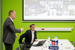 Press conference of Volvo Truck and Bus Slovenia, on January 26, 2018 in Ljubljana, Slovenia. Photo by Urban Urbanc / Sportida
