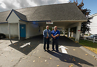 Lakeport US Post Office with drive thru.  Karen Bobotas for the Laconia Daily Sun