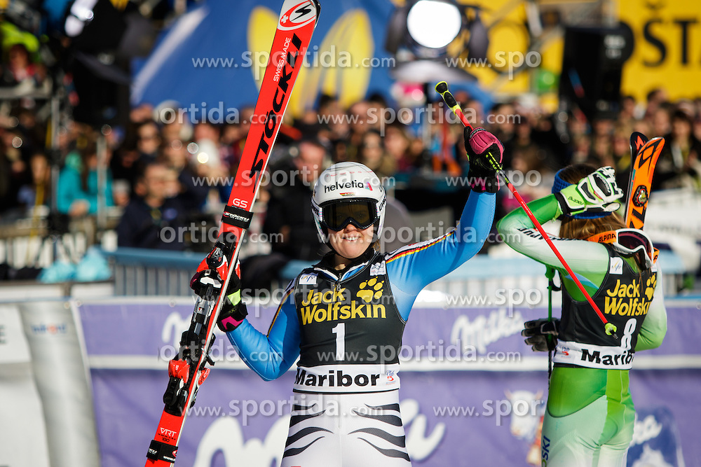 Viktoria Rebensburg (GER) during 7th Ladies' Giant slalom at 52nd Golden Fox - Maribor of Audi FIS Ski World Cup 2015/16, on January 30, 2016 in Pohorje, Maribor, Slovenia. Photo by Ziga Zupan / Sportida
