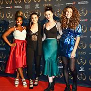 Soho radio arrivers at Gold Movie Awards at Regents Street Theatre, on 9th January 2020, London, UK.