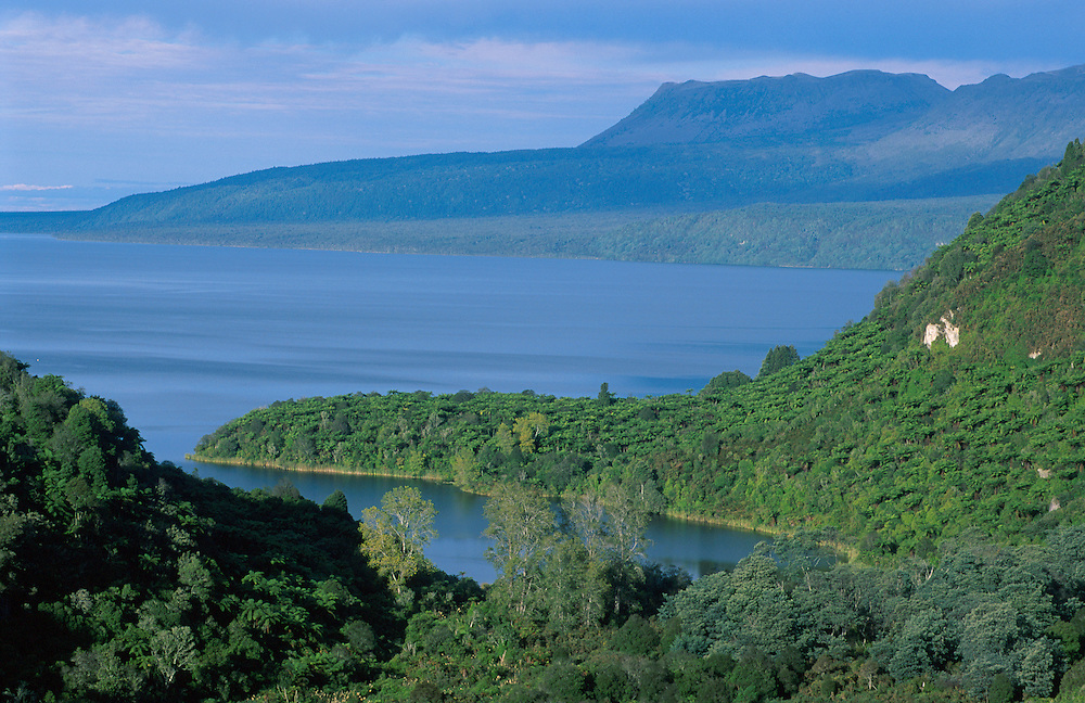 Lake Tarawera near Rotorua
