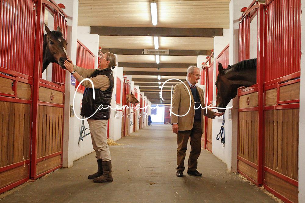 Leon Melchior met Taloubet Z en Judy Ann met Zandor Z<br /> Stoeterij Zangersheide - Lanaken 2011<br /> &copy; Dirk Caremans
