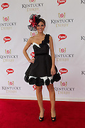 Maria Menounos attends the Kentucky Derby in Louisville, Kentucky on May 7, 2011.