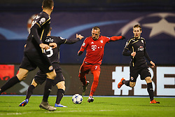 Franck Ribery #7 of FC Bayern Munchen during football match between GNK Dinamo Zagreb and Bayern München in Group F of Group Stage of UEFA Champions League 2015/16, on December 9, 2015 in Stadium Maksimir, Zagreb, Croatia. Photo by Ziga Zupan / Sportida