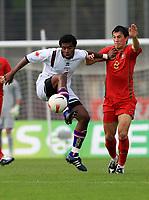 20090324: FUNCHAL, MADEIRA, PORTUGAL - Portugal vs Cape Verde: XIII Madeira International Under 21 Tournament. In picture: Edson Cruz (Cabo Verde). <br />PHOTO: Octavio Passos/CITYFILES