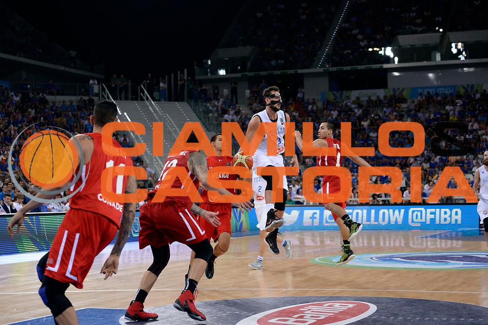 DESCRIZIONE: Torino FIBA Olympic Qualifying Tournament Semifinale Italia - Messico<br /> GIOCATORE: Marco Belinelli<br /> CATEGORIA: Nazionale Italiana Italia Maschile Senior<br /> GARA: FIBA Olympic Qualifying Tournament Semifinale Italia - Messico<br /> DATA: 08/07/2016<br /> AUTORE: Agenzia Ciamillo-Castoria