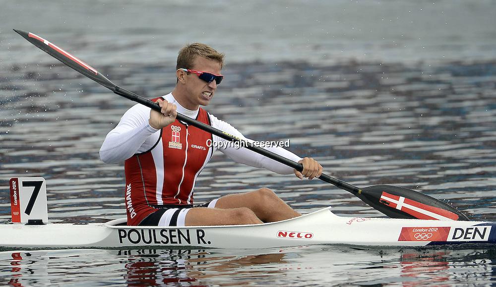 08.08.2012. Eton Dorney, Berkshire, England. Kayak Rene Oulsen  K1 final  2012 Olympic Games London