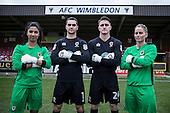 AFC Wimbledon Goalkeepers