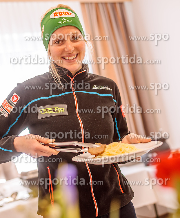 14.02.2017, Biathlonarena, Hochfilzen, AUT, IBU Weltmeisterschaften Biathlon, Hochfilzen 2017, Training, im Bild Lisa Hauser (AUT) // Lisa Hauser (AUT) before Training for the IBU Biathlon World Championships at the Biathlonarena in Hochfilzen, Austria on 2017/02/14. EXPA Pictures © 2017, PhotoCredit: EXPA/ JFK