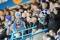 Fotball<br /> England<br /> Foto: Fotosports/Digitalsport<br /> NORWAY ONLY<br /> <br /> 02.01.10 Portsmouth v Coventry FA Cup 3rd Round Fratton <br /> Does the taxman's bell toll for Pompey? Lifelong fan, John Portsmouth Football Club Westwood, leads the singing.