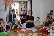 Roma 3 Luglio 2014<br /> Gli attivisti del Teatro Valle occupato, hanno occupato  l&rsquo;assessorato alla Cultura di Roma Capitale indossando maschere, occhialini da mare, per protestare per  l&rsquo;assenza di politiche culturali e il degrado del patrimonio culturale romano. Denunciano  che Roma, Capitale del paese, sia da pi&ugrave; di un mese senza assessore alla Cultura. Ilenia Caleo, attrice, portavoce del Teatro Valle Occupato durante la conferanza stampa<br /> Rome July 3, 2014 <br /> The activists of the Teatro Valle busy, occupied the Department of Culture of the City of Rome, wearing masks, goggles sea, to protest the lack of cultural policies and degradation of cultural heritage Roman. Activists complain that Rome, the capital of the country, that  by  more than a month is without Councillor for Culture. Ilenia Caleo, actress, spokesperson for the Teatro Valle Occupied during the press conference.
