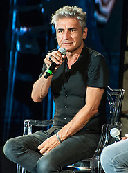 July 4, 2018 - Benevento, Italy/ Campania, Italy - The well-known Italian rocker Luciano Ligabue present at the second edition of the Bct, the Film and Television Festival in Benevento, to speak in front of his fans of his latest film ''Made in Italy' (Credit Image: © Sonia Brandolone/Pacific Press via ZUMA Wire)