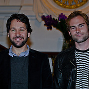 NLD/Amsterdam/20090116 - Photocall acteurs Paul Rudd en Seann William Scott, hoofdrolspelers van de film Role Models