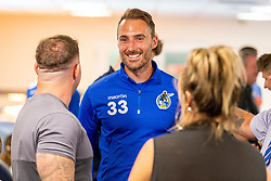 Alex Rodman of Bristol Rovers talks with fans during the Open Day - Ryan Hiscott/JMP - 19/07/2018 - FOOTBALL - Memorial Stadium - Bristol, England - Bristol Rovers Open Day